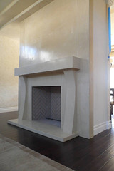 10 Piece Fireplace (da squash) Tags: concreteart concretedesign concretefireplace customconcrete fiberreinforcedconcrete gfrcconcrete