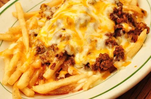 Mmm... chili cheese fries