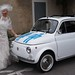 "Mariage Fiat 500 Blanche • <a style=""font-size:0.8em;"" href=""https://www.flickr.com/photos/78526007@N08/7241650958/"" target=""_blank"">View on Flickr</a>"