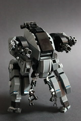 Jericho Mk II (Andreas) Tags: lego mecha mech minigun verticaltank brickarms legomecha bipedalmech legocombatmech bipedmech legocombatmecha bipedalthinktank