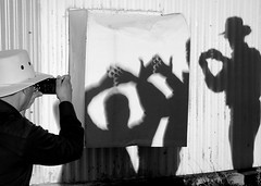 eclipsed shadow puppets (citlali*) Tags: arizona people solar eclipse hands shadows tucson photographers az crescent effect alx mtlemmon shadowpuppets annular dsc05157 9000ft skycenter 05202012