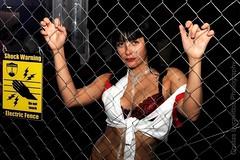Shock Warning (Costas Lycavittos) Tags: modeling fashionphotography athens greece portfolio жена червено бяло колие начинизавиждане черено costaslycavittos сутиен представисичесижена