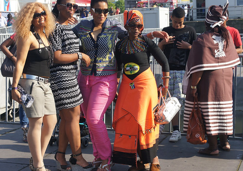 Africa Day At George's Dock In Dublin Docklands [Fashion Show Scheduled For Sunday]