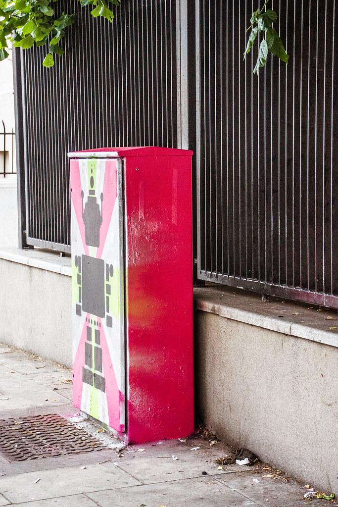 Street Art And Traffic Lights - Work In Progress (Anna Doran)