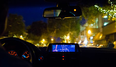 Cruisin' through Berkeley (andrewpabon) Tags: california ca berkeley interior cruisin bayarea bmw nav 1series 135i