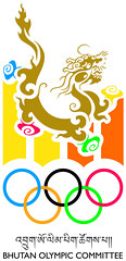 "Bhutan Olympic Committee Logo • <a style=""font-size:0.8em;"" href=""http://www.flickr.com/photos/76929546@N08/7350575650/"" target=""_blank"">View on Flickr</a>"