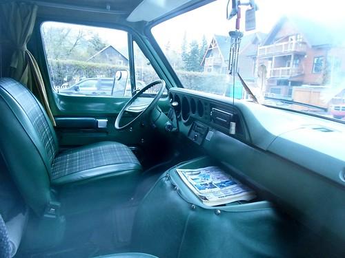 1978 Dodge Tradesman Camper van interior - a photo on Flickriver