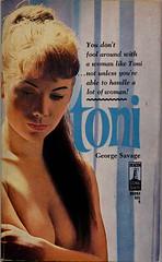 Beacon 686 (uk vintage) Tags: toni beacon sleaze photocover beaconbooks beaconsignal georgesavage