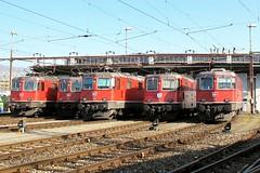 Re 4/4 II im Depot F Zürich (hans.hirsch) Tags: sbb cff ffs zürich zue depot f lokdepot re 420 44 bahnhof gare