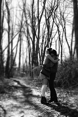 IMG_8852 (bryce.julien) Tags: bw love forest spring hugs