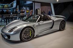918 Spyder (cp8592) Tags: auto show new york city car nikon spyder porsche supercar 918 nyias