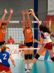 P4271927c (roel.ubels) Tags: sport republic czech arnhem nederland volleyball ek volleybal oranje ec qualification 2014 tsjechië kwalificatie valkenhuizen