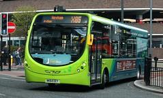 Arriva North East: 1585 NK64EEY Wright StreetLite (emdjt42) Tags: bus arriva 1585 streetlite arrivanortheast arrivanorthumbria wrightstreetlite nk64eey