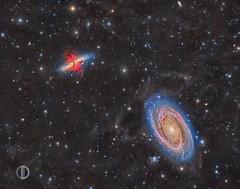 M81-M82 V 2.0 (dvalid) Tags: night stars space galaxy nebula astrophotography astronomy
