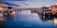 Siracusa - Ortigia (Maurizio Formati) Tags: travel bridge italy panorama seascape landscape italia sicily syracusa viaggio sicilia siracusa ortigia