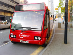 TM Travel (Sheffield) 1169 / MX04VLM (nbtpics) Tags: travel mercedes scotland sheffield solo tm mercedesbenz mcnee citycentre optare tmtravel perrymans wellglade