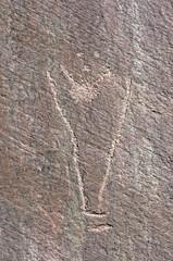 Petroglyph / Pleasant Creek Site (Ron Wolf) Tags: archaeology utah nationalpark fremont nativeamerican petroglyph anthropology rockart capitolreefnationalpark anthropomorph pleasantcreek anthromorph