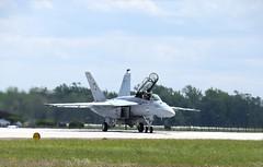 F/A-18F Superhornet Demo (B29tim) Tags: show new demo power air navy nj pines jersey usaf joint dix mcguire lakehurst 247 superhornet fa18f