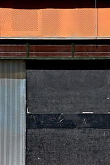 linear #1706 (Harry Halibut) Tags: park brown metal panel mosaic south sheffield yorkshire hill images flats crown allrightsreserved perforated ornge sheffieldbuildings colourbysoftwarelaziness imagesofsheffield sheffieldarchitecture 2016andrewpettigrew sheff1605041706