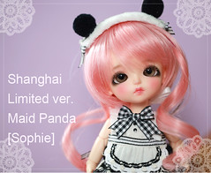 "Lati Yellow ""Shanghai Limited Ver. Maid Panda Sophie"" (~Felka) Tags: yellow doll panda shanghai sophie bjd pageant limited maid dollars latidoll lati"