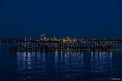 HQ Energy Without Injury LED OLB Light Panel Luminary Flotilla at Break Free PNW 2016 Photo taken by John Duffy 27100160795_d45a188ba4_o (Backbone Campaign) Tags: water justice washington energy kayak break action politics protest creative paddle shell free social demonstration oil change wa environment activism anacortes campaign pnw refinery climatechange climate tesoro artful backbone renewable refineries 2016 kayaktivist kayaktivism breakfreepnw