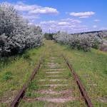 Железная дорога около Реуцела / Calea ferata despre satul Rautel / Railroad near Rautel thumbnail