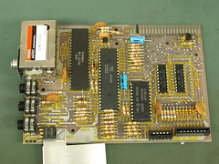 ZX81 Computer Teardown PCB (eevblog) Tags: computer pcb zx81 teardown