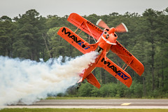Lucas Oil Low Pass (4myrrh1) Tags: art canon airplane nc airport aircraft aviation smoke airplanes airshow biplane mcas 2016 cherrypoint lucasoil ef100400l 7dii