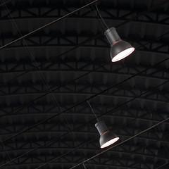 in coppia... (zecaruso) Tags: lamps lampade light luce palermo cantiericulturalidellazisa zac tetto roof nikond300 zecaruso zeca ze ze² zequadro cicciocaruso