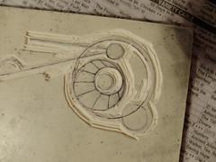 11 may 16 2 (14) (beihouphotography) Tags: art closeup design artwork progress carving carve printmaking