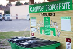 Compost Dropoff Kiosk - Scarborough, ME (garbagetogarden) Tags: food portland education maine soil waste sustainability composting curbsidecomposting garbagetogarden compostpickup