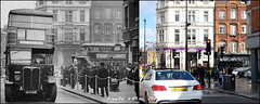 Parkway`1930S-2016 (roll the dice) Tags: old uk travel england urban baby money bus men london art history classic cars tourism pee beer mobile architecture canon fun lights mirror newspaper pub closed sad traffic wine camden transport drinking ale talk bank gone retro busstop passengers spirits collection nostalgia wc local streetfurniture mad ornate hampstead changes toilets pram omnibus boozer nw1 oldandnew merc publichouse vanished pastandpresent bygone hereandnow aecregent
