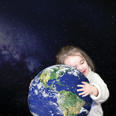 A Little Love (Joe P Regan) Tags: world love stars child earth galaxy hugs earthday