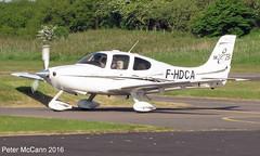 F-HDCA SR22 Fife June 2016 (pmccann54) Tags: glenrothes cirrussr22 fhdca fiferegionalairport