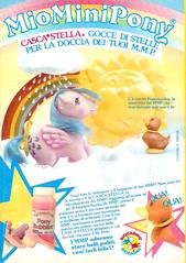 My Little Pony 80's advert (cri land) Tags: stella italy mi advertising one italian little ad mini mein pony sprinkles 80s advert mio g1 mon generation petit italiano italiana pequeno pubblicit casca poney kleines my cascastella