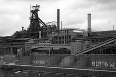 Seraing (steelworks by OAE) Tags: b industry iron belgium steel dd liege industrie blast stahl steelworks haut eisen hf sambre arcelor hochofen lttich cockerill seraing furnance einfarbig mittal ougree fornoux