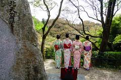 4 - Selfie of 4 (p.fabian) Tags: japan jp  kimono  japn  kytoshi kytofu japn