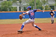 _DSC1373 (Manjhou) Tags: up sport set nikon baseball sigma kaohsiung pitcher position batter 70200mm   pickoff   tainwan         d7200