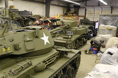First and Last WW2 Light Tanks (jkracing50) Tags: ww2 chaffee m24 m3a1 lighttank