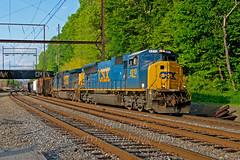 CSX 4810 @ Langhorne, Pa. (Twenty17Teen Photography) Tags: trains railroads csx emd csxtransportation railroadphotography trainphotos railroadphotos langhornepennsylvania railroadimages