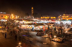 Marrakesh night market (Zu Sanchez) Tags: africa night mercado marrakech marrakesh marruecos jamaaelfna 70d canoneos70d zsnchez zusanchez plazayamaaelfna