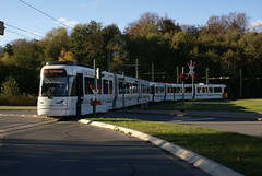 2012-10-27, Bielefeld, Lohmannshof (Fototak) Tags: germany tram vamos bielefeld strassenbahn mobiel 5006 ligne4 5004 heiterblick