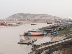 Pier (cattan2011) Tags: travel nature river landscape pier cambodia