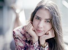 Lorraine (Darque.G Photography) Tags: mamiya 645 m645 sekor 80mm fuji pro model girl woman beautiful natural light available lighting