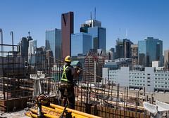 Building Toronto (Jack Landau) Tags: city urban toronto ontario canada architecture buildings construction downtown cityscape view 6ix