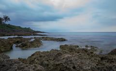 DSC04550 (k.ngchu) Tags: beach rocks asia cloudy taiwan whitesand baisha