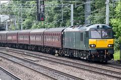 92014.Atherstone.15.6.16 (deltic17) Tags: train railway locomotive caledonian ecs atherstone class92 92010 92014