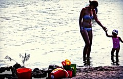 In Training ... (Haytham M.) Tags: summer people lake ontario canada beach water swimming sand shore 18200mm canont4i