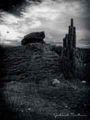 PIEDRAS ECIMADAS (Gabriel Contreras Tzintzun) Tags: paisaje guanajuato cultura historia recuerdos atardecer tranquilidad descanso familia decadas rancho destello sol cerros piedras