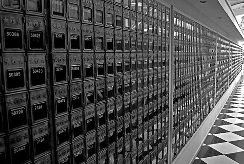 Central Post Office BW Santiago Chile